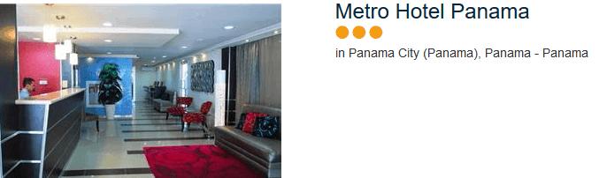 Metro Hotel - drei Sterne