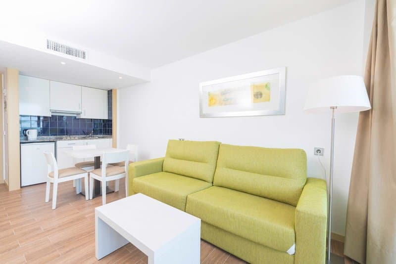 Mit seperatem Schlafzimmer ist euer Apartement