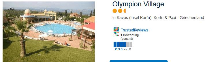 Olympion Village drei Sterne Hotel