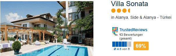 Pauschalreise Villa Sonata 4 Sterne Hotel