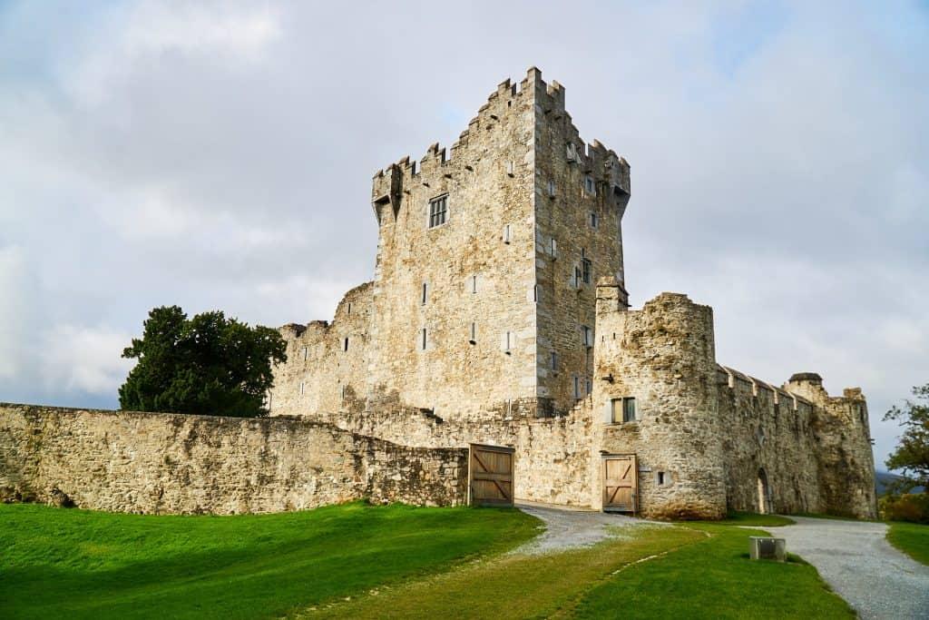 Ross Castle in Rosslare