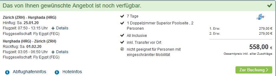 Screenshot Deal LABRANDA Club Makadi - ab 279,00€ 1 Woche All Inclusive
