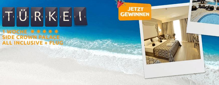 Screenshot Deal Reise Gewinnspiel - 15 Jahre weg de 2 Reisen zu gewinnen