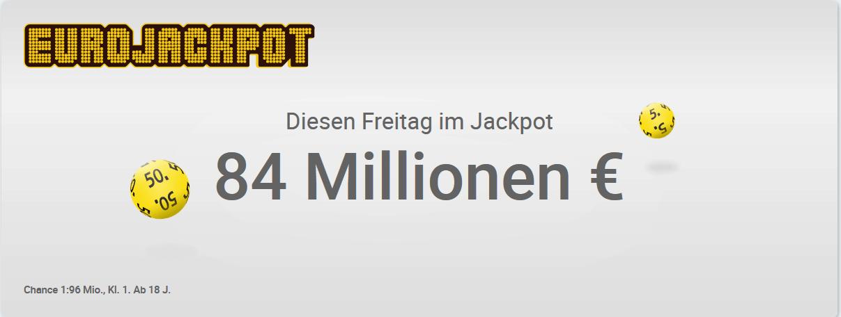 Screenshot Lotto Dauer Urlaub - Gewinn den Eurojackpot 84 Millionen