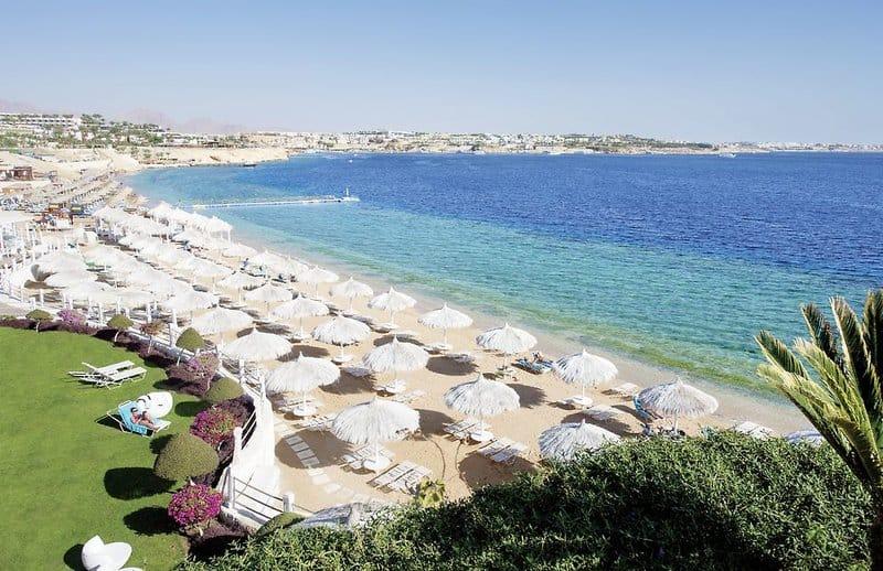 Shark Bay - Neueröffnung Luxus Hotel Sunrise Grand Select Arabian Beach Resort