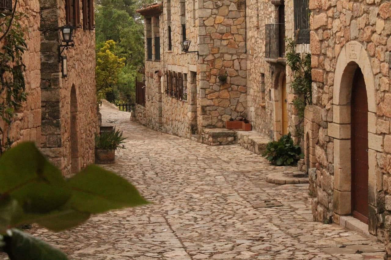 Siurana die mittelalterliche Kulisse haut einen um