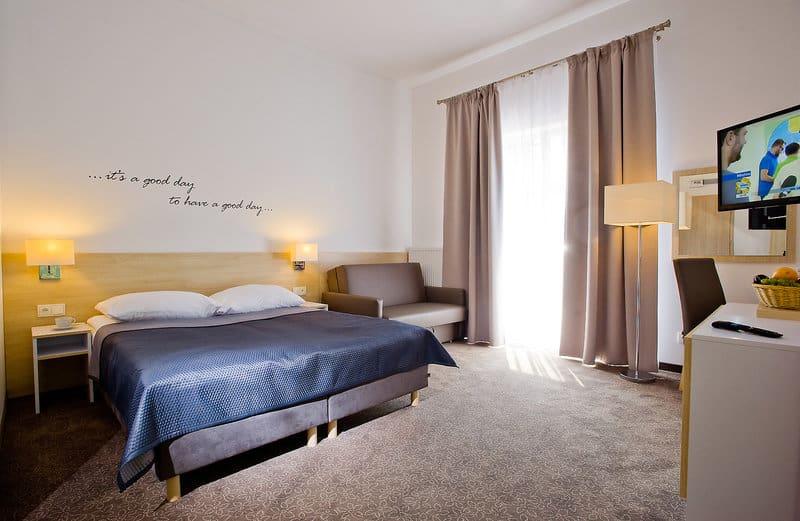 So sehen die Zimmer im drei Sterne Hotel aus - Borgata