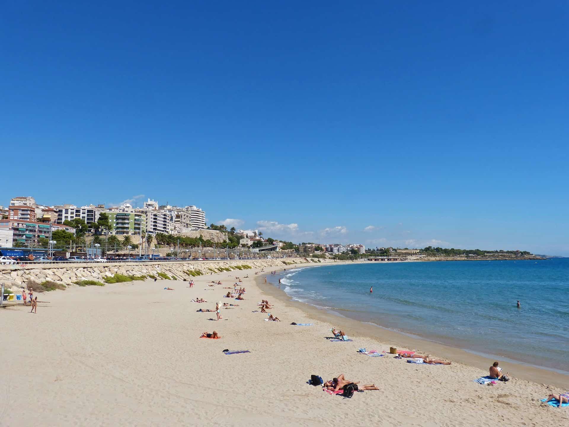 Strand von Tarragona