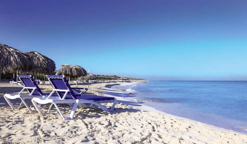 Strandabschnitt direkt an eurer Alles Inklusive Unterkunft