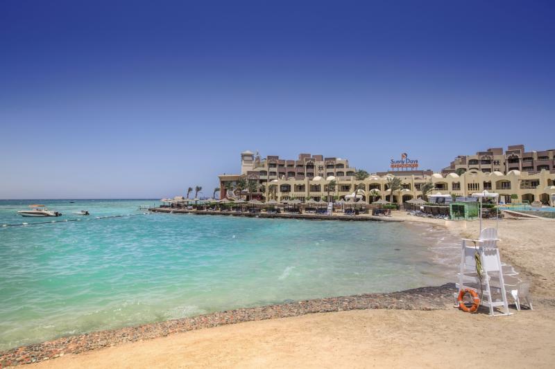 Strandabschnitt vom Sunny Days Resort