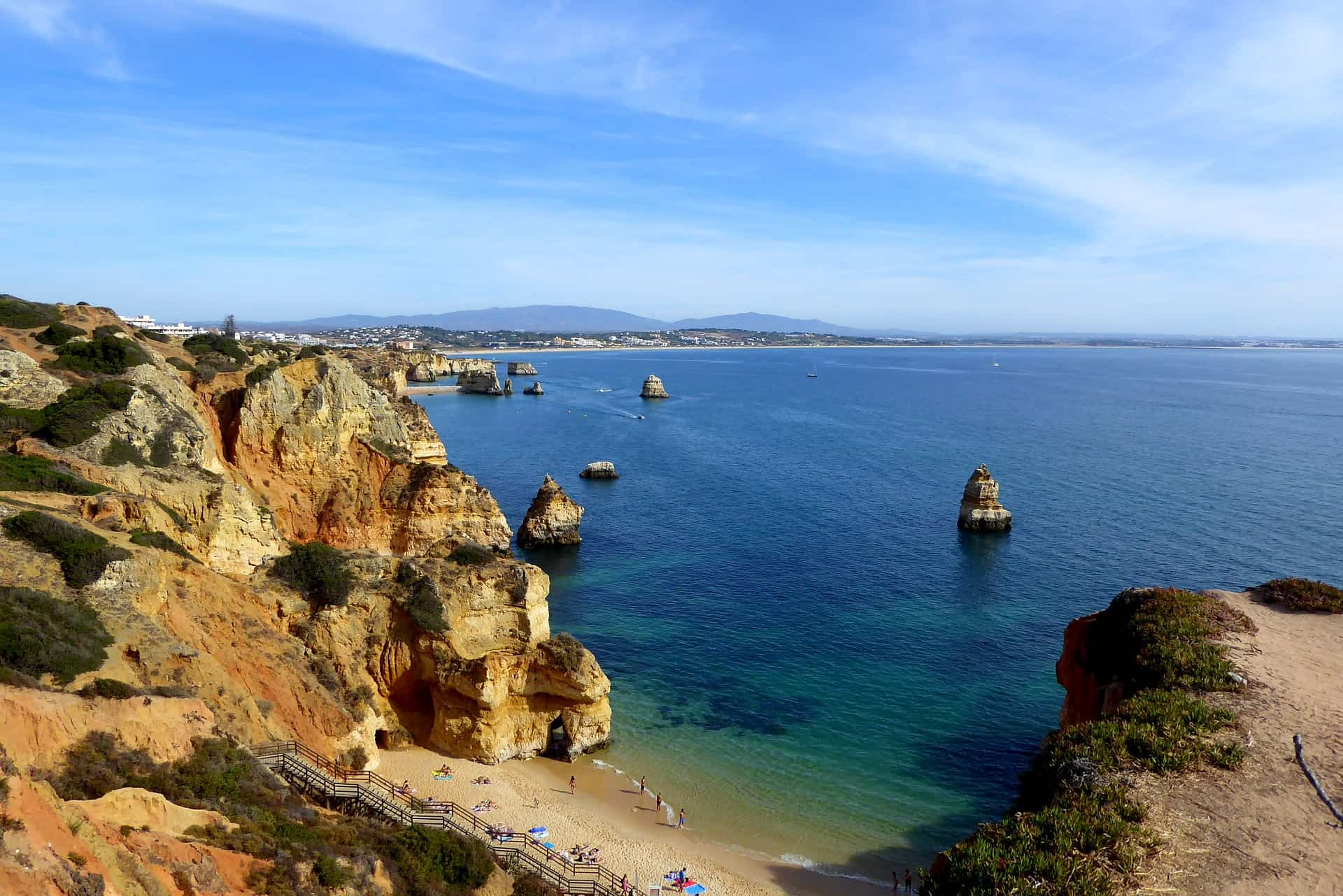 Strandurlaub am schönsten Ort Europas - Lagos Algarve Urlaub