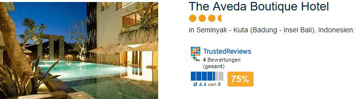 The Aveda Boutique Hotel - Geheimtipp in Seminyak