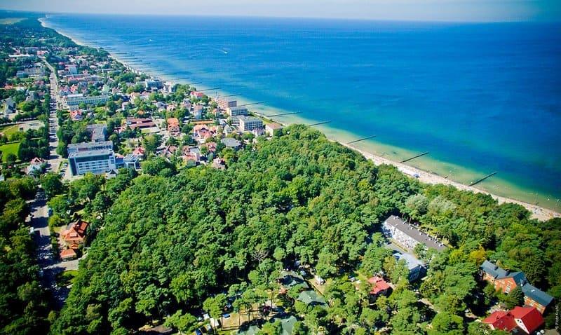 Traumhafter Strandabschnitt auch in den Sommerferien kann man hier einen günstigen Badeurlaub buchen