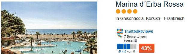 Urlaub auf Korsika ab 60,00€ die Woche Hotel buchen