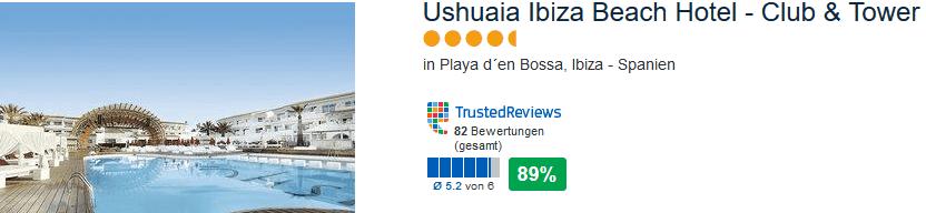 Ushuaia Ibiza Beach Hotel die besten DJS der Welt haben hier Gigs wie David Guetta, Calvin Harris ...