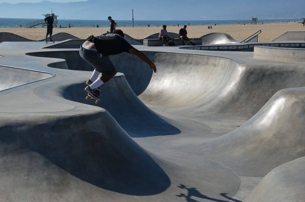 Venice Beach - einer der belebtesten Strandabschnitte der gesamten Welt