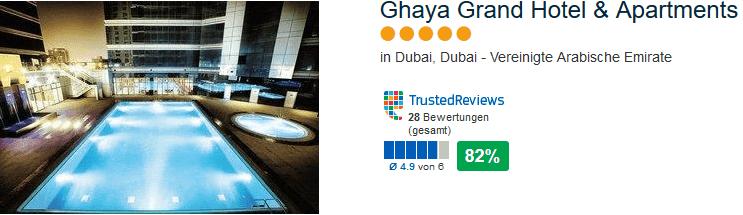 Vereinigte Arabische Emirate - Dubai Pauschalreise - Ghaya Grand Hotel & Apartments 5 Sterne