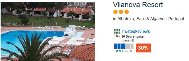 Vilanova Resort Beispiel Hotel