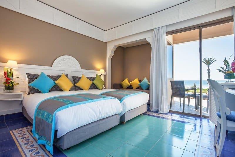 Wohnbeispiel - Hotelzimmer mit Meerblick