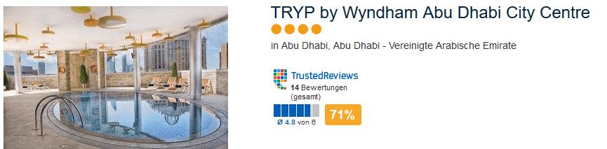 Zum Beispiel das 4 Sterne Tryp by Wyndham City Centre