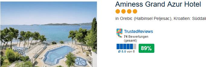 4 Sterne - Hotel in Orebic auf der Halbinsel Peljesac