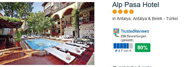 4 Sterne Hotel in der Altstadt von Antalya am Hafen