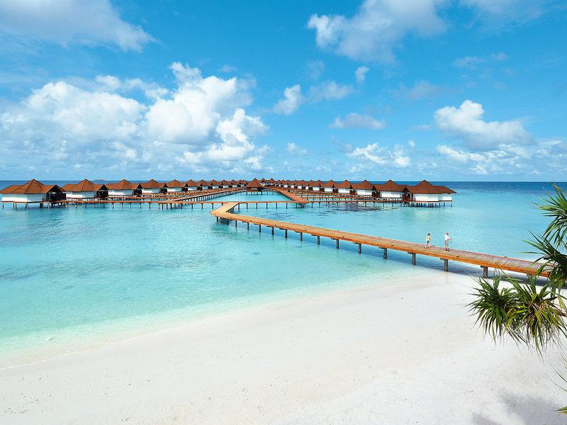 Am besten Fernreisen nach Gaafu Alifu buchen im NOrd Huvadhu Atoll auf den Malediven