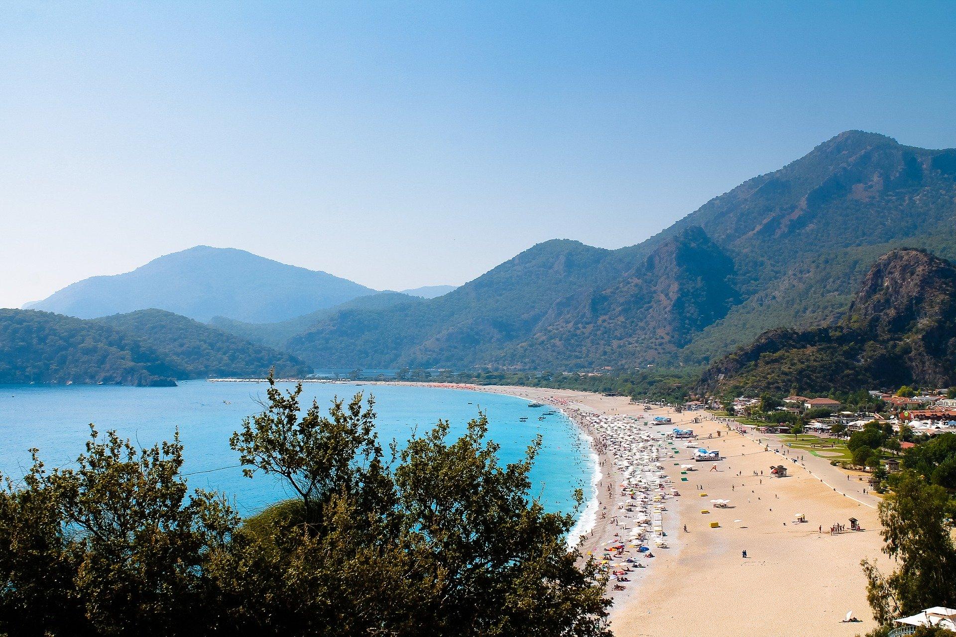 Auch die türksiche Riviera am Kleopatra Beach wird extrem günstig Angeboten