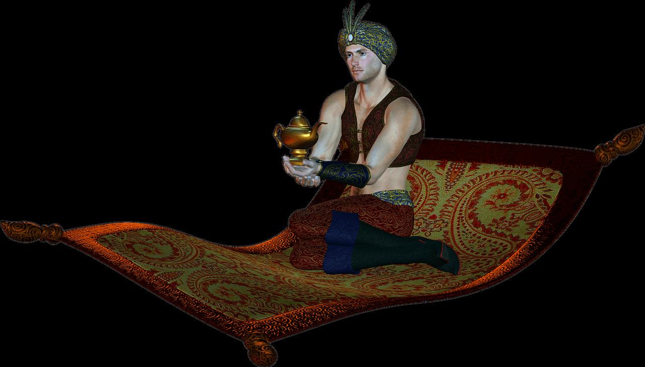 Auf dem fliegenden Teppich Aladdin Live sehen