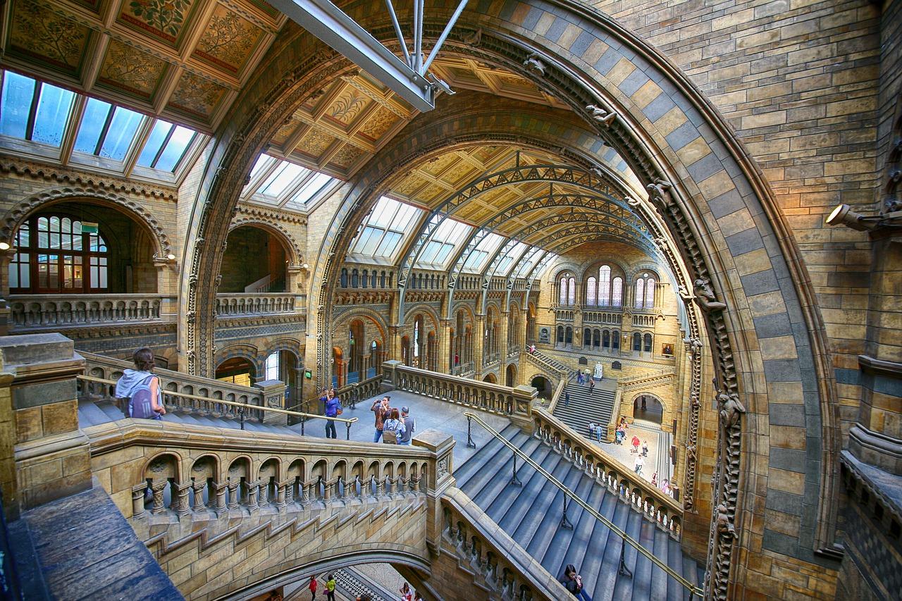 Das London-Museum erinnert ein wenig an Harry Potter