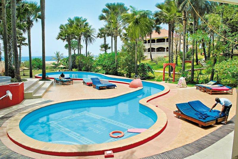 Direkte Strandlage bietet das Hotel