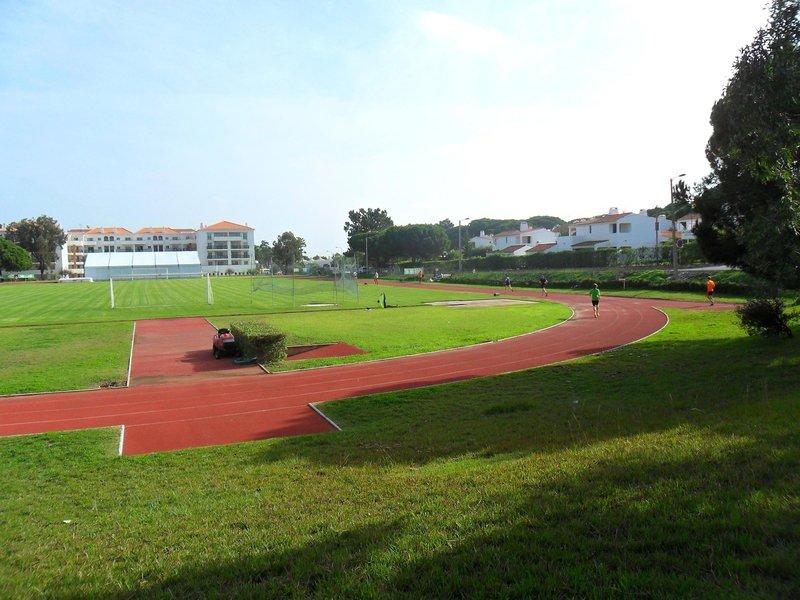 Eine große Sportanlage hat das drei Sterne Hotel
