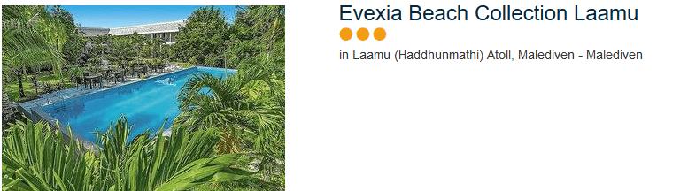 Evexia Beach Collection Lamu - drei Sterne Hotel im Lamuu Atoll
