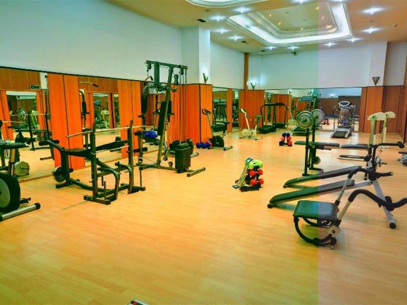 Fitnesscenter in der Unterkunft