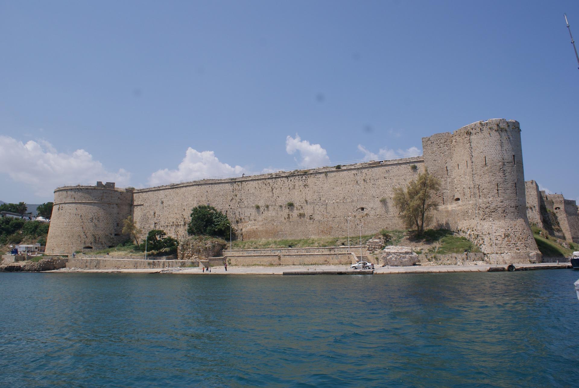 Girne Burg auf der Insel