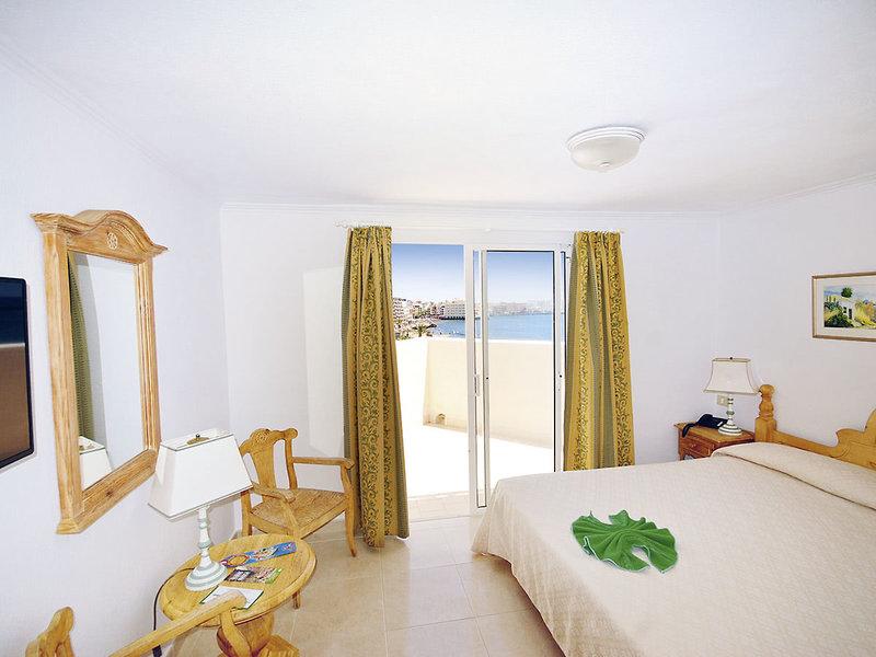 Hotelzimmer im drei Sterne Hotel auf der Insel