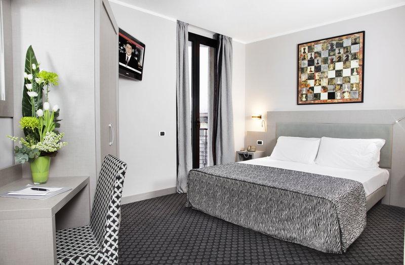 Hotelzimmer im ibis Styles Roma Art Noba