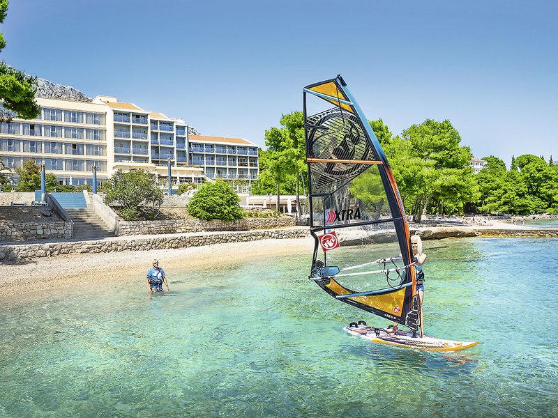 Kitesurfen direkt vom Hotel angeboten