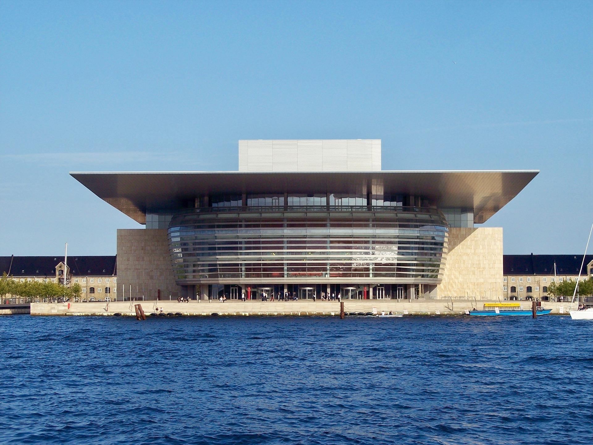 Königliche Oper - auf der Insel Holmen