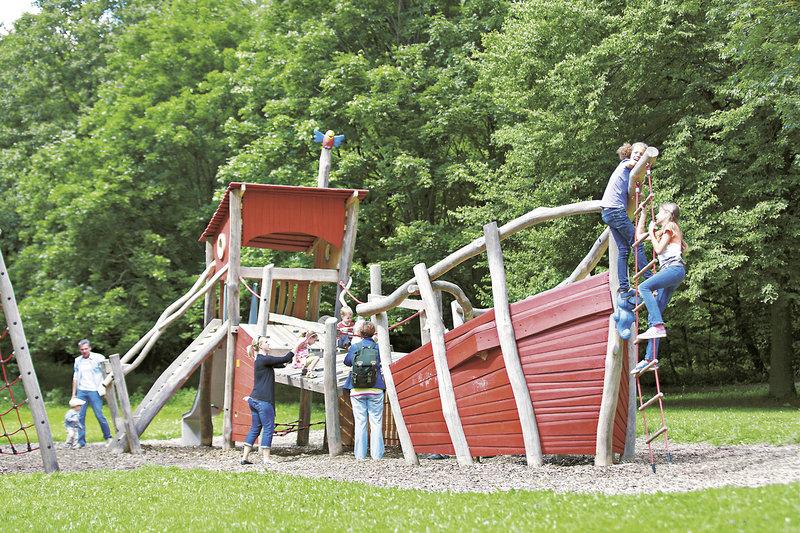 Outdoor bereich für Kids