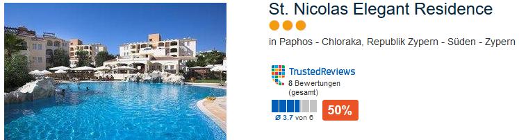 Paphos im Südwesten - St. Nicolas Elegant Residence