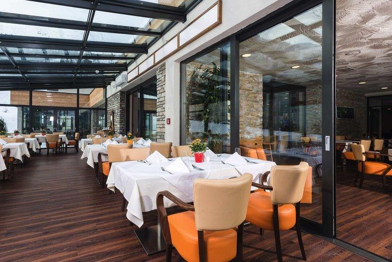 Restaurant vom Hotel im schönen Design