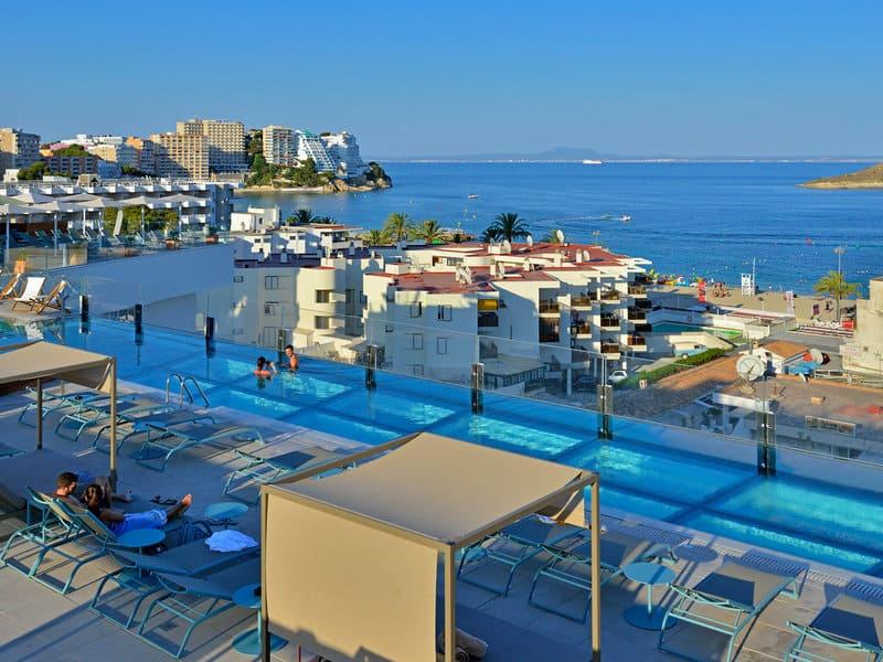 Rooftop mit atemberaubende Sicht auf die Bucht von Palma