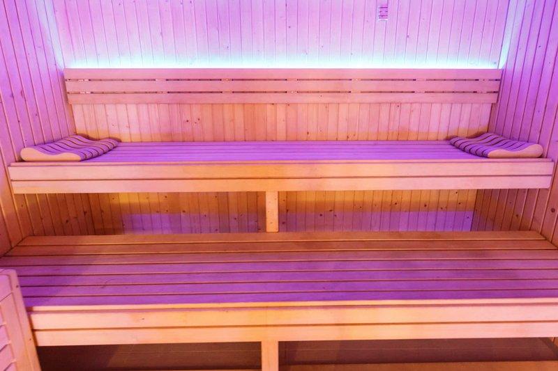 Sauna Zugang im Spa Bereich