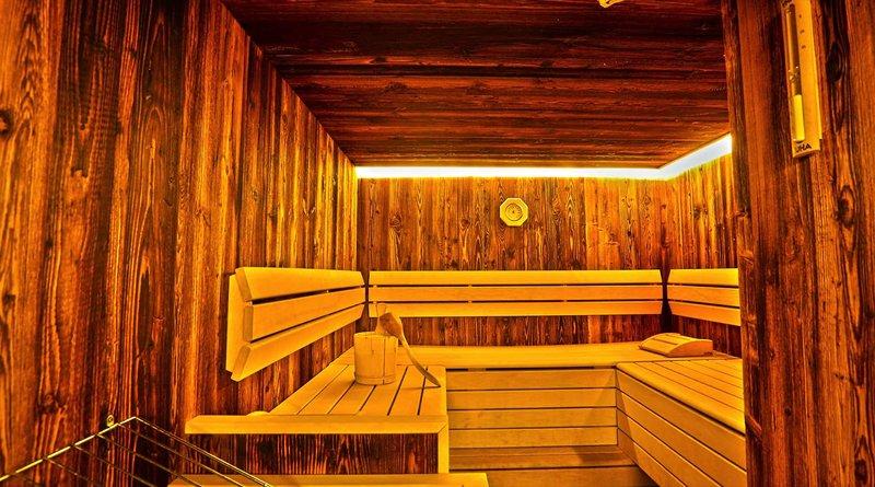 Sauna zugang ist natürlich inklusive