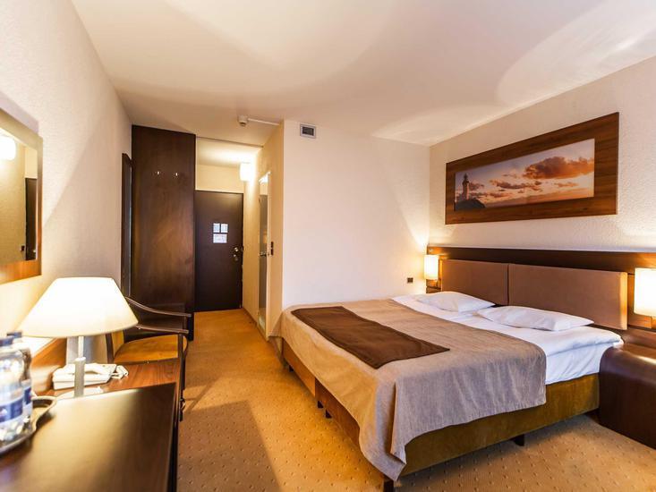 Schlafzimmer im drei Sterne Hotel
