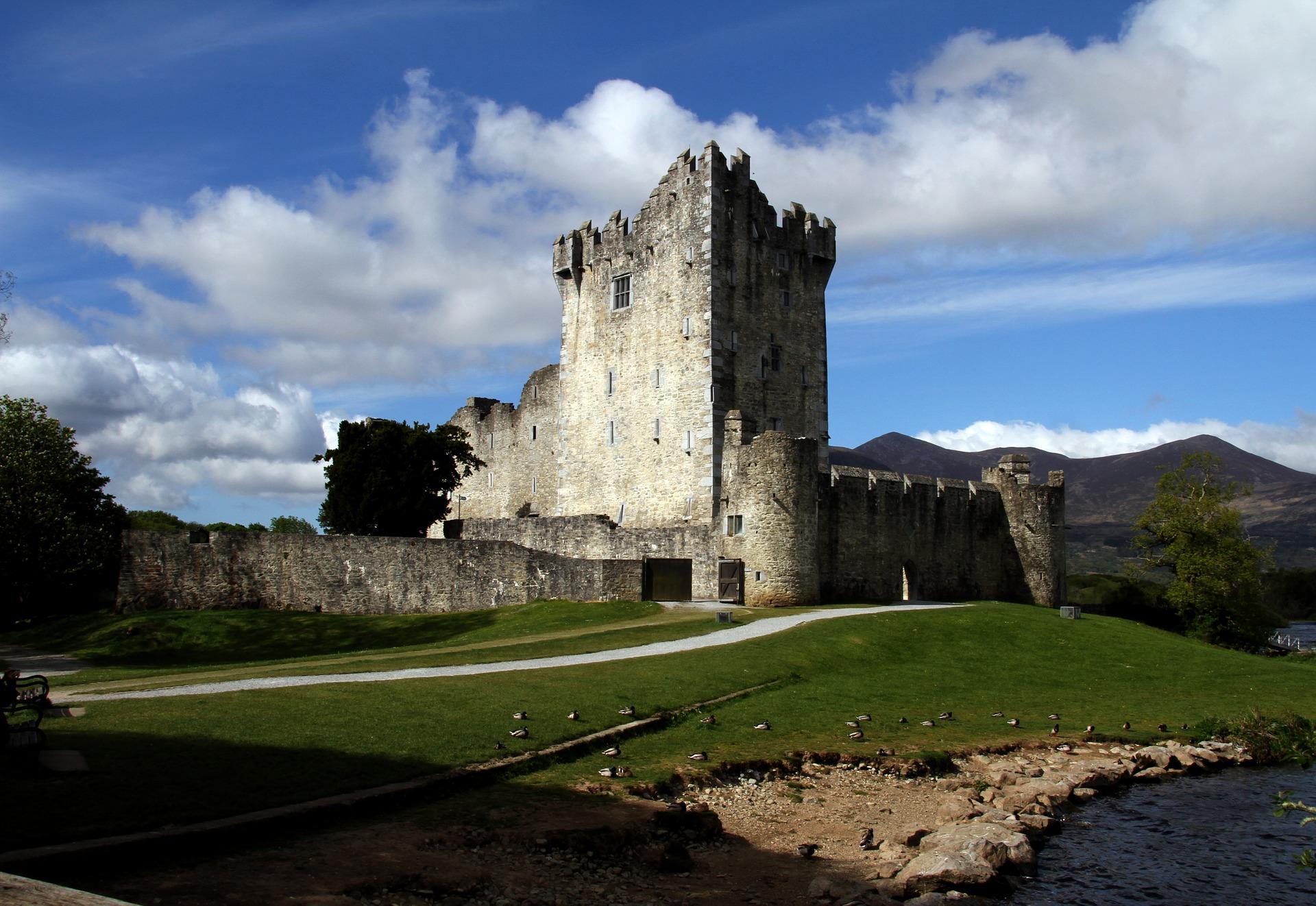 Schloss Ross im Herzen der Provinz Munster