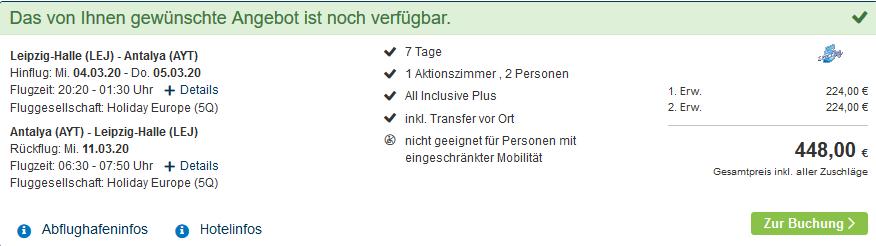 Screenshot Deal Aquaworld Belek - All Inclusive im Aquapark nur 224,00€