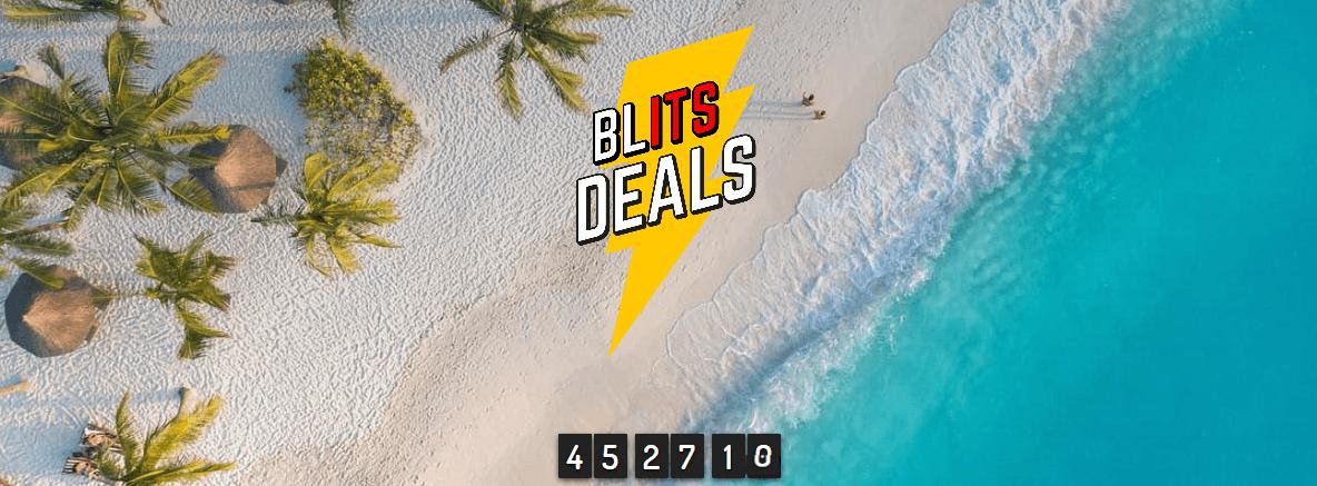 Screenshot Deal Blits Deals - Reduzierte Reisen von ITS ab 322,00€