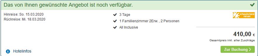 Screenshot Deal Hotel Victoria Kaprun - All Inclusive ab 68,33€